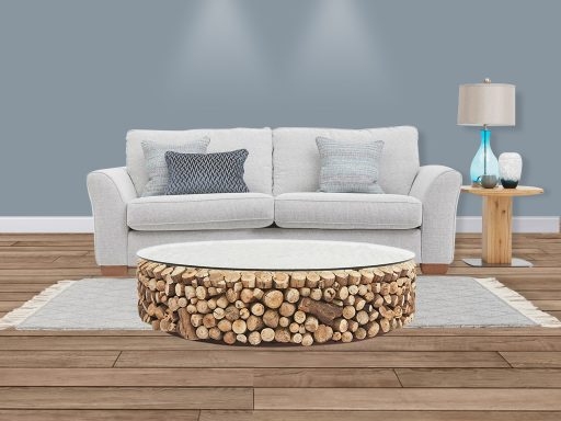 Cousteau Round Coffee Table